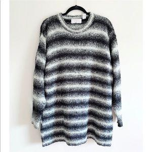vintage space dye sweater